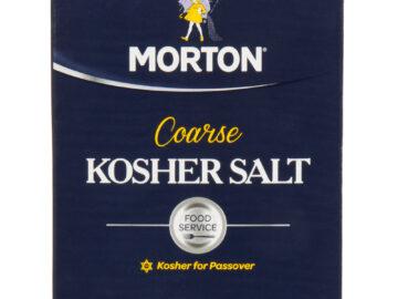 Morton's Kosher Sea Salt