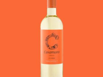 A bottle of Casamaro Verdejo wine.
