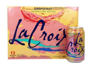 la croix sprakling water case